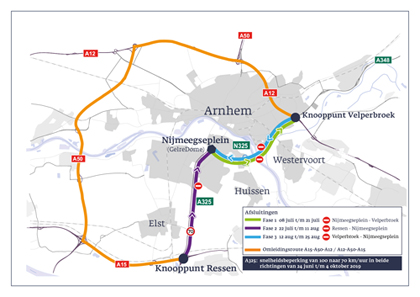 Verkeer gestremd rondom Baptist Arnhem
