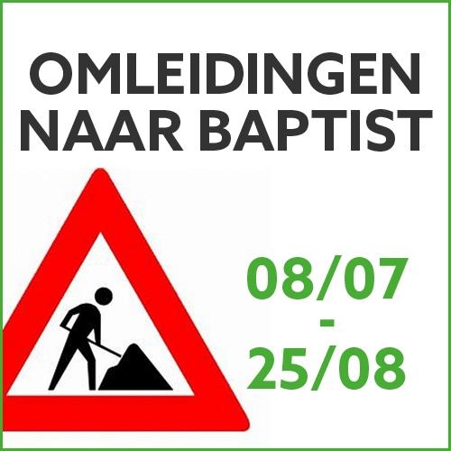 Omleidingen naar baptist