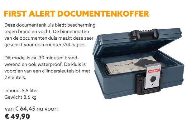 First alert documentenkluis