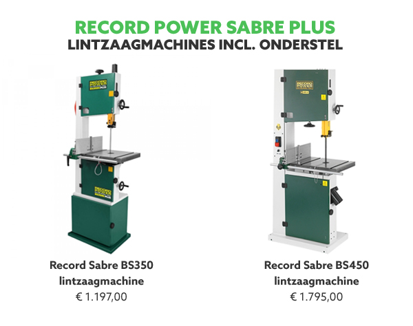 Record Power Sabre lintzaagmachines