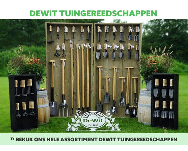 DeWit tuingereedschappen