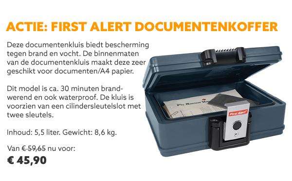 First Alert documentenkoffer