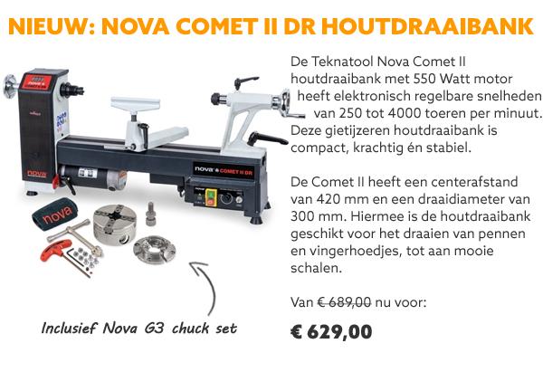 Teknatool Comet II houtdraaibank