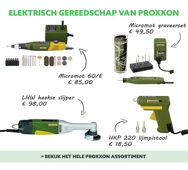 Proxxon gereedschap