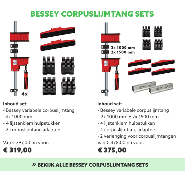 Bessey corpuslijmtang sets