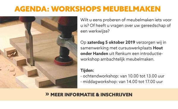 Workshops meubelmaken