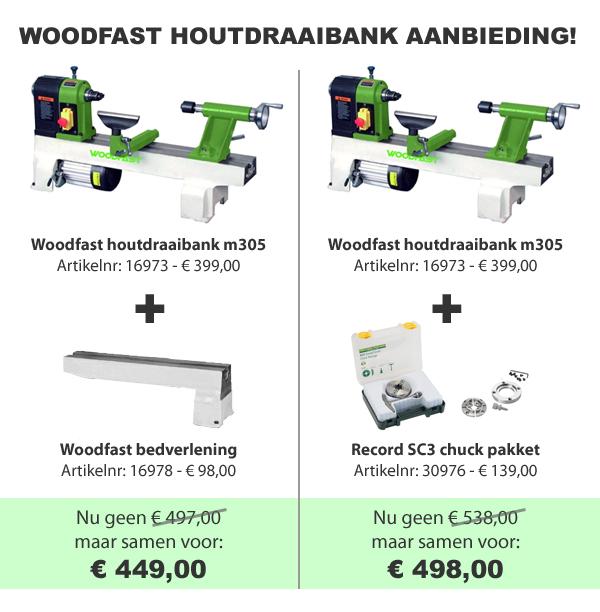 Woodfast houtdraaibank