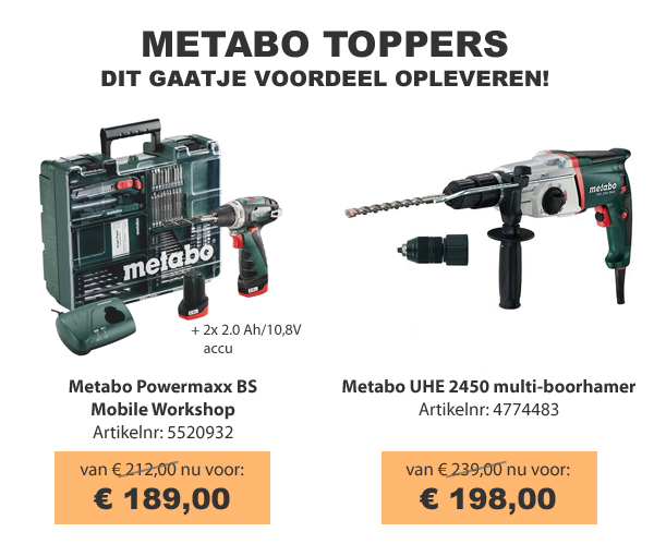 Metabo toppers