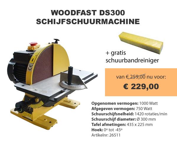 Woodfast schijfschuurmachine