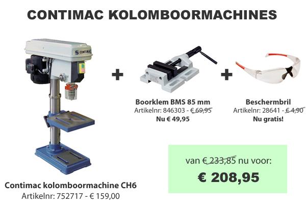 Contimac kolomboormachine