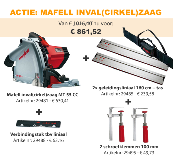Mafell actie