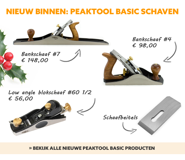 Peaktool  basic schaven