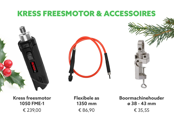 Kress freesmotor