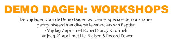 Demo Dag workshops