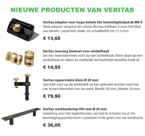 Nieuwe Veritas producten