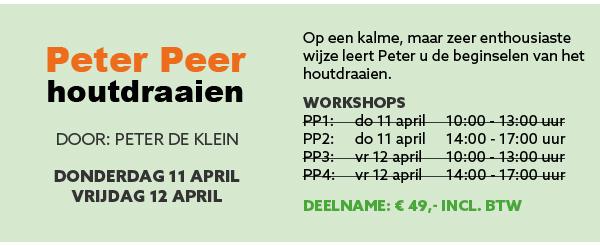 Workshop Peter Peer