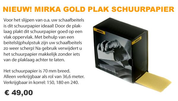 Mirka Gold schuurpapier