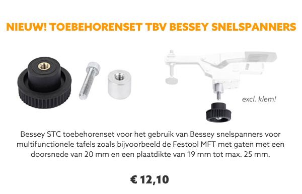 Bessey toebehorenset snelspanners