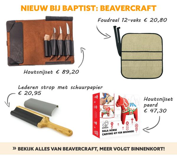Beavercraft houtsnijden