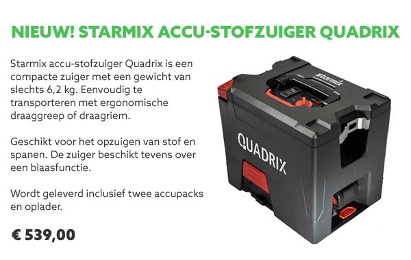 Starmix accu-stofzuiger