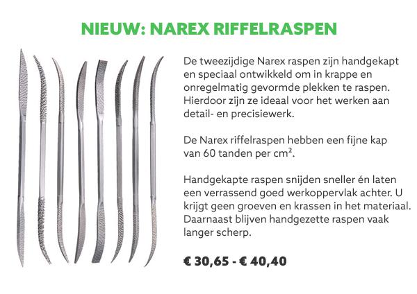Narex riffel raspen