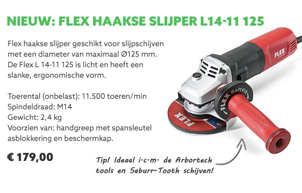 Flex haakse slijper