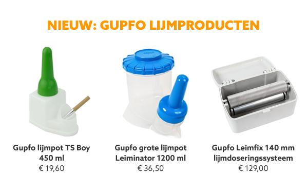Gupfo lijmproducten