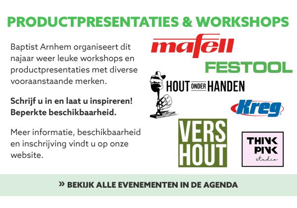 Workshops en presentaties