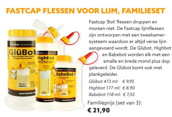 FastCap lijmflessenset