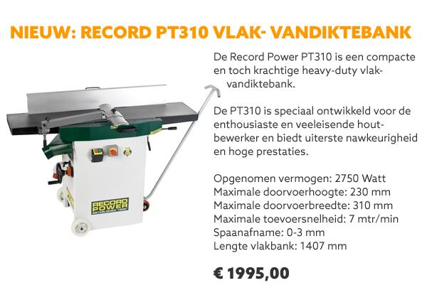 Record Power vlak-vandiktebank