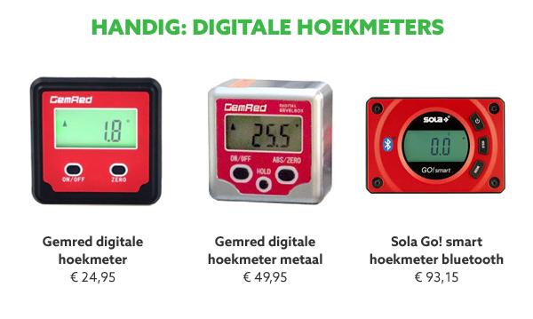 Digitale hoekmeters