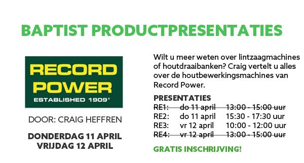 Record Power productpresentatie
