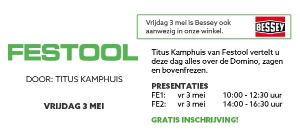 Festool productpresentatie