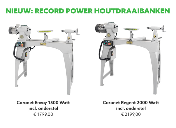Record Power houtdraaibanken