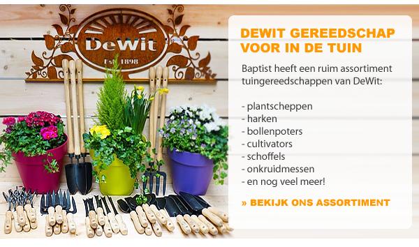DeWit tuingereedschap