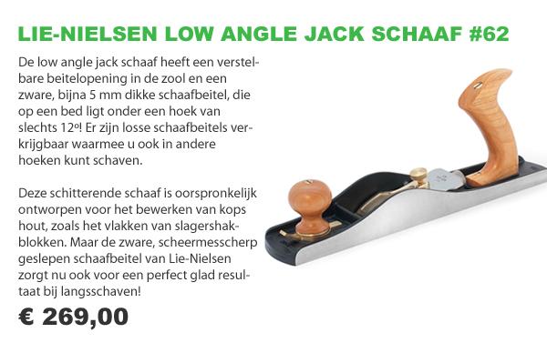 Lie-Nielsen low angle schaaf 62
