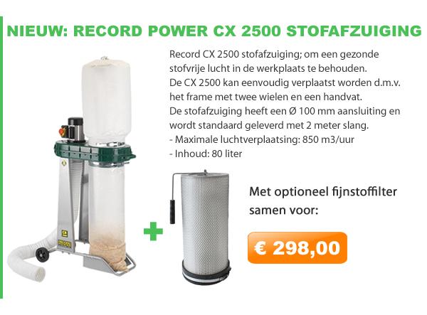 Record CX2500 stofafzuiging