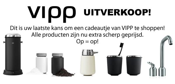VIPP uitverkoop