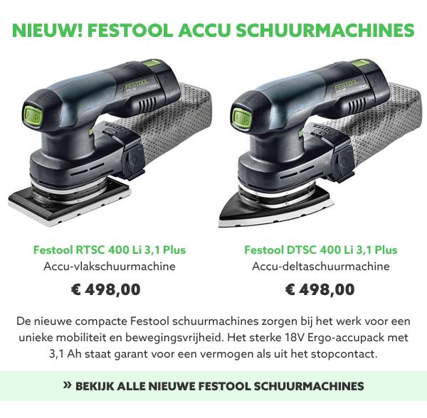 Festool schuurmachines