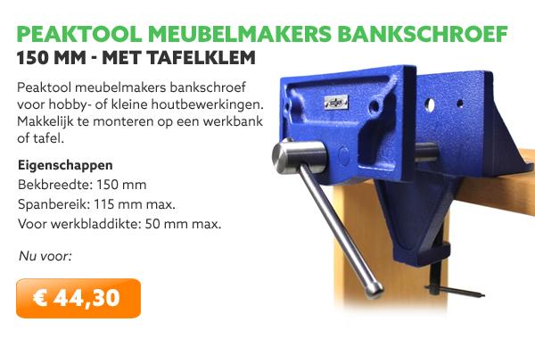 Peaktool meubelmakers bankschroef