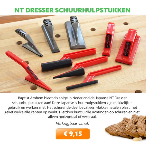 NT Cutter schuurhulpstukken