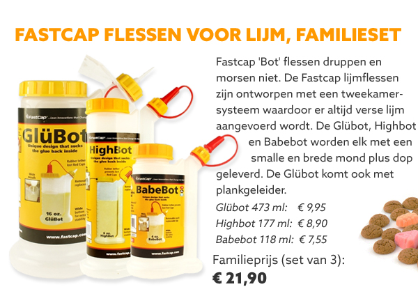 FastCap lijmflessen