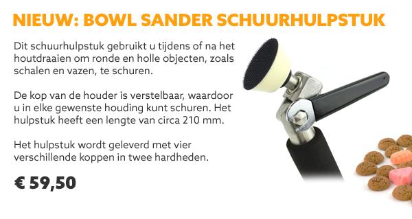 Bowl Sander schuurhulpstuk