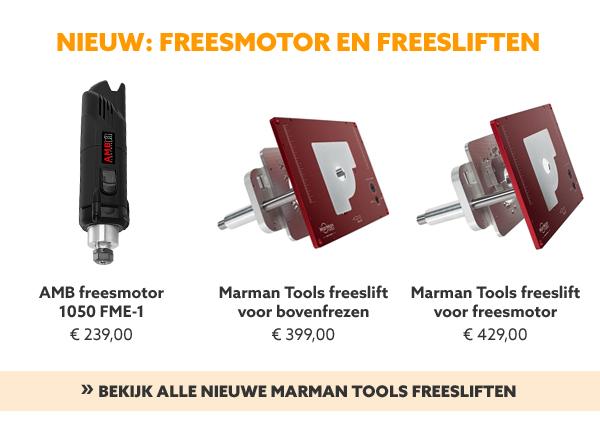 Freesmotor en freesliften