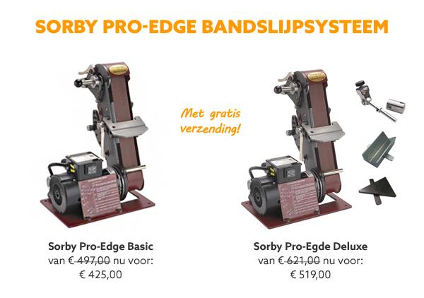 Sorby Pro-Edge machines