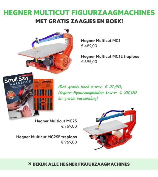 Hegner Multicut figuurzaagmachines
