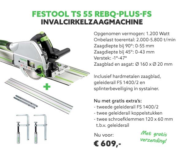 Festool invalcirkelzaagmachine