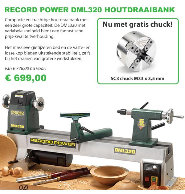 Record Power draaibank