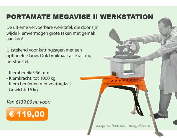 Portamate Megavise werkstation