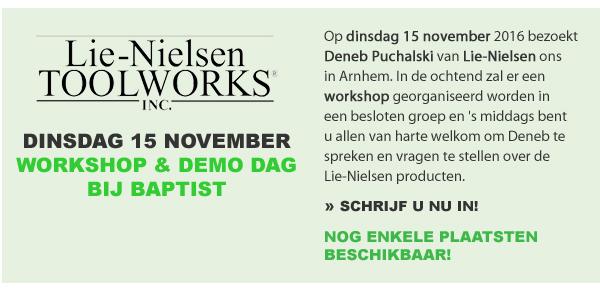 Lie-Nielsen Demo Dag